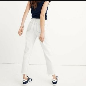 Madewell Tapered Wide Leg Jean High Rise 31